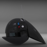 Small Imperial gunner helmet from star wars!  3D Printing 203035