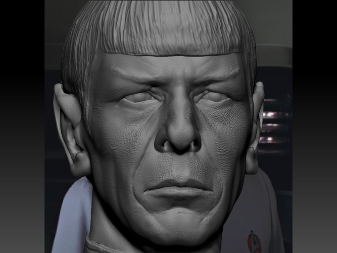 Mr. Spock from Star Trek. Leonard Nimoy 3D Print 203171