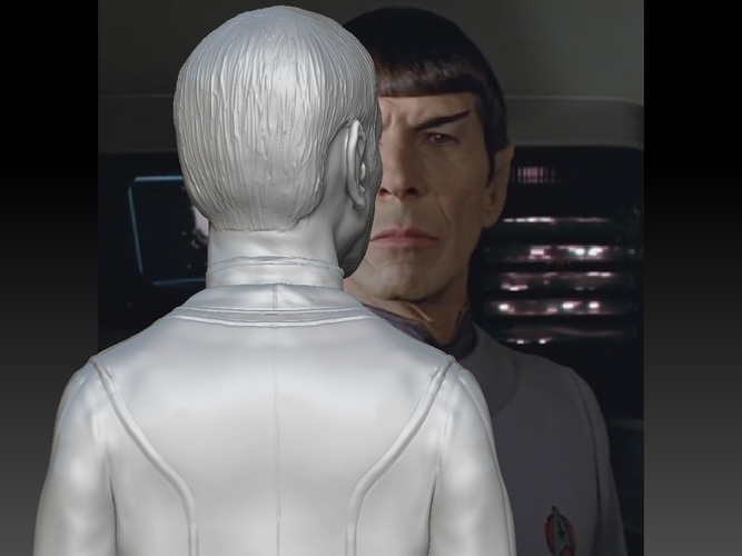 Mr. Spock from Star Trek. Leonard Nimoy 3D Print 203179