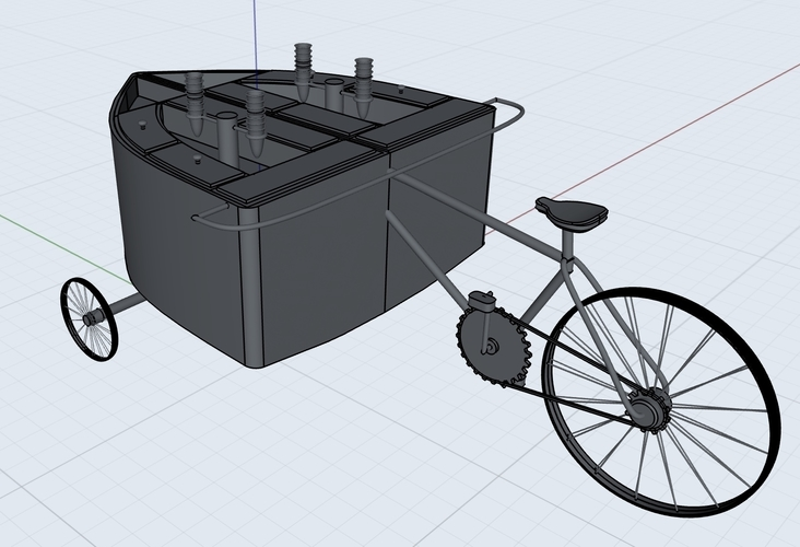 Ice Cream Bike 3D Print 203210