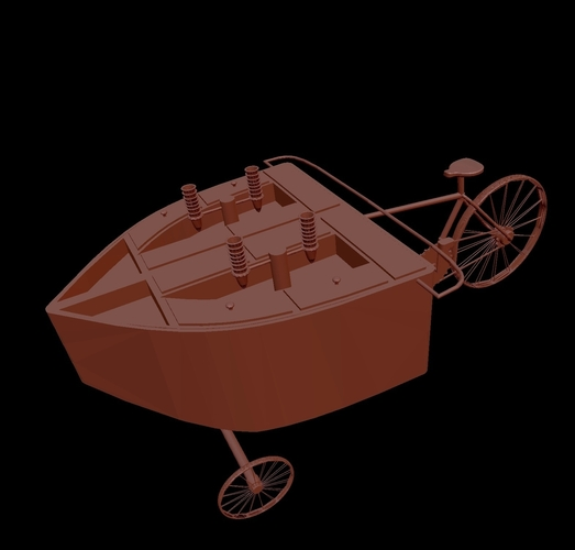 Ice Cream Bike 3D Print 203211