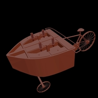 Small Ice Cream Bike 3D Printing 203211