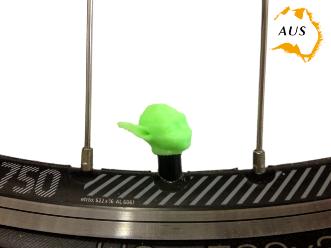 Yoda Bicycle Tyre Caps Bike Car Van Truck Valve Wheel Star Wars 3D Print 203246