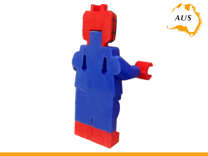 Lego Spider Man Toilet Roll Holder Bathroom Decor Hook Hanger 3D Print 203414