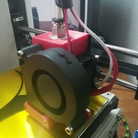 Small MPSM E3D mount w/blower 3D Printing 203441