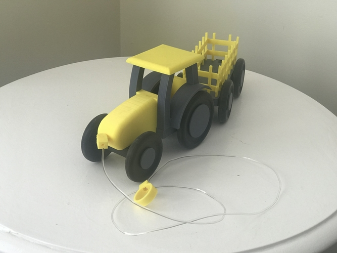 Kids pull tractor 3D Print 203447