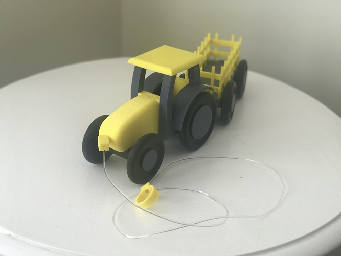 Kids pull tractor 3D Print 203449