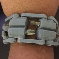 Small 3D Printed Tool WristBand 3D Printing 20350