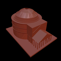 Small Pantheon or Rome 3D Printing 203520