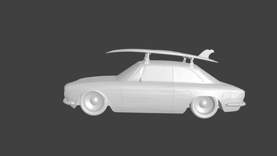 3d printed alfa romeo gt custom surfcargauderio | pinshape