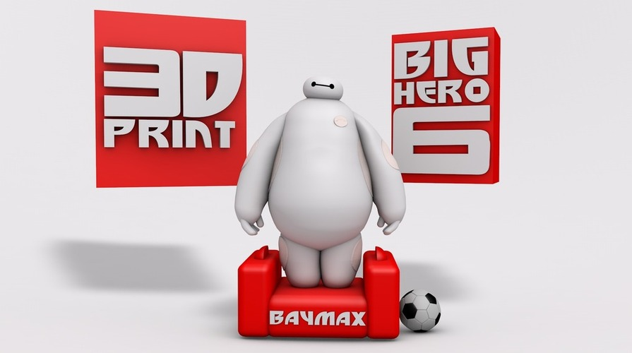 BIG HERO 6 - BAYMAX 3D Print 20373