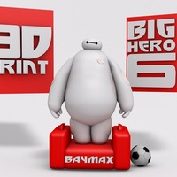 Small BIG HERO 6 - BAYMAX 3D Printing 20373