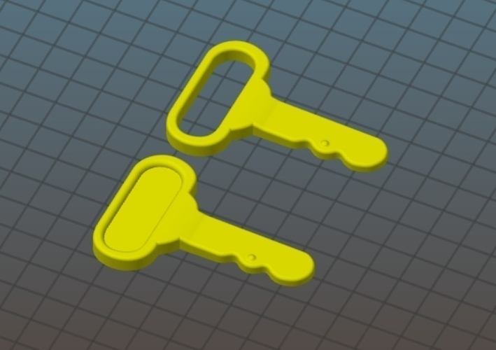 Little Tikes Cozy Coupe Replacement Key 3D Print 203738