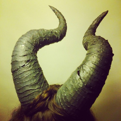 MALEFICENT HORNS 3D Print 20375