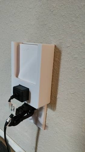 Keen Smart Vent Repeater Wall Plug Holder 3D Print 203755
