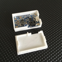 Small Case for Adafruit PowerBoost 1000 Charger 3D Printing 203784