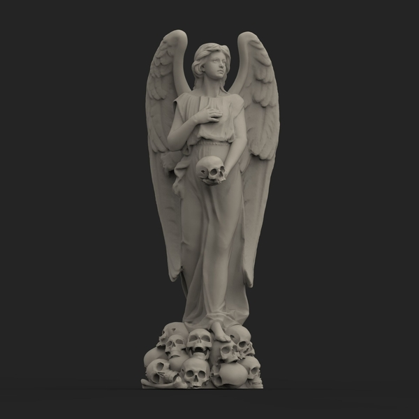 Medium Angel Of Death 3D Printing 203826