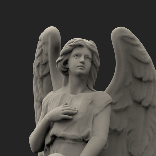 Angel Of Death 3D Print 203827