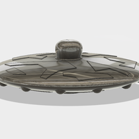 Small UFO 3D Printing 204018