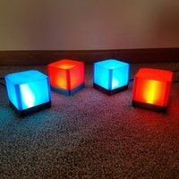 Small USB Lamp / Desk Lamp / Night Light / PC Lamp  3D Printing 204041