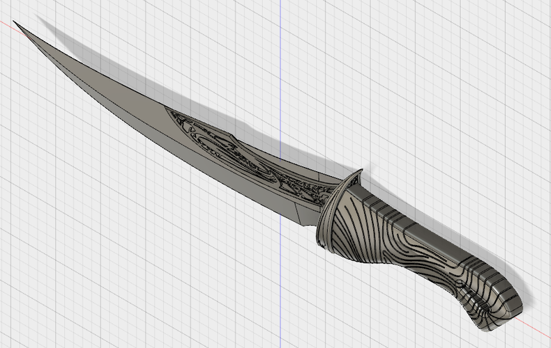 Drax the destroyer blades 3D Print 204061