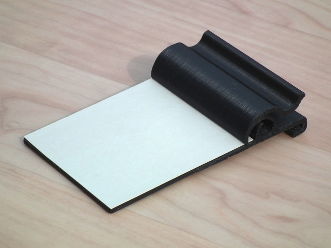 Small clipboard for shopping lists etc. 3D Print 204293