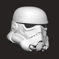 Small Stormtrooper Helmet - Star war 3D Printing 204321