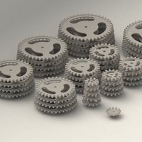 Small Gear Collection 1 3D Printing 204419
