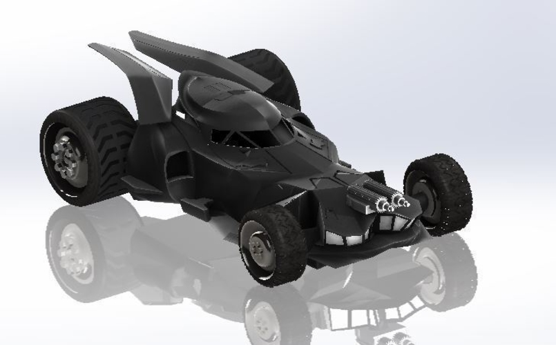 BatMobile  - Batman V Superman Dawn of Justice Model 3D Print 204444