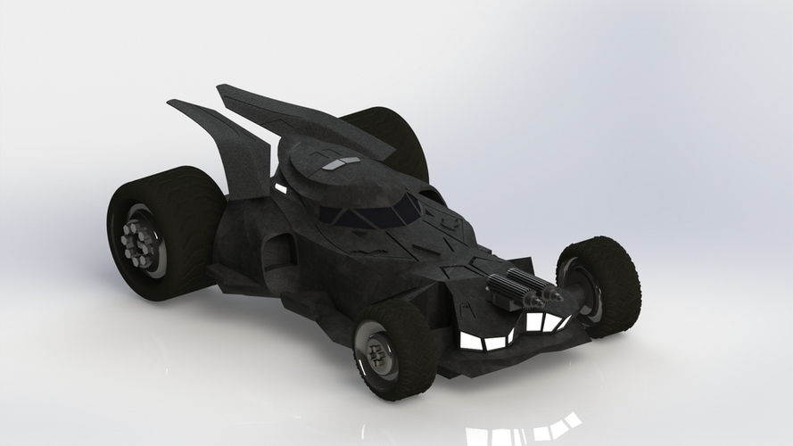 BatMobile  - Batman V Superman Dawn of Justice Model 3D Print 204445