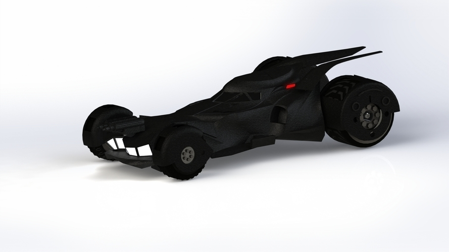 BatMobile  - Batman V Superman Dawn of Justice Model 3D Print 204446