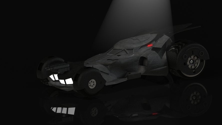 BatMobile  - Batman V Superman Dawn of Justice Model 3D Print 204448