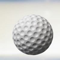 Small Golf ball 3D Printing 204456