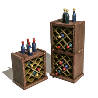 Small HG3D - Wine Racks - Raghaven Collection - 28mm 3D Printing 204517