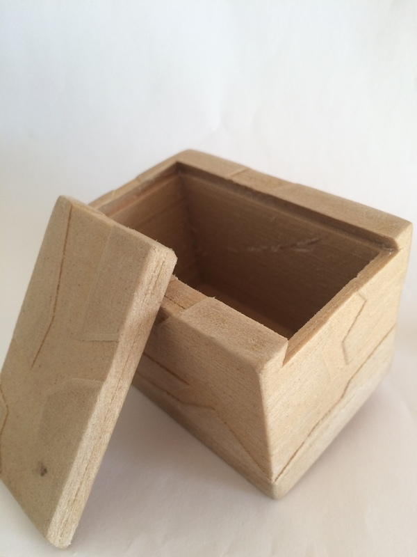 Medium Box with lid 3D Printing 20454
