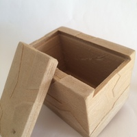 Small Box with lid 3D Printing 20454