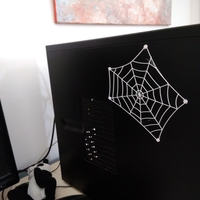 Small flexible spider web 3D Printing 204545