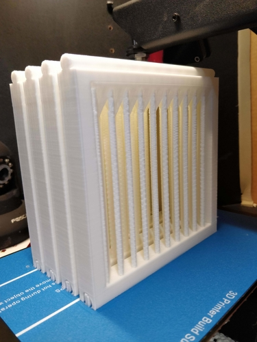 Modular mini-window holder w/ blinds 3D Print 204571