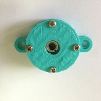 Small 1.6cm diameter gear bearing holder  3D Printing 20458