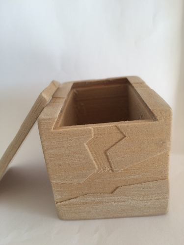 Box with lid 3D Print 20459