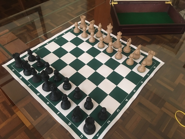 Medium Weighted Tournament Chess Game Set 3D Printing 204596