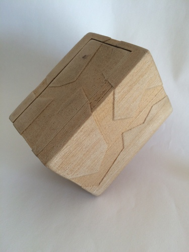 Box with lid 3D Print 20462