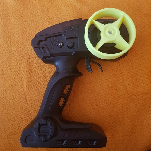Steering wheel for RC 3D Print 204651