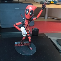 Small Deadpool Figure 3D Printing 204656