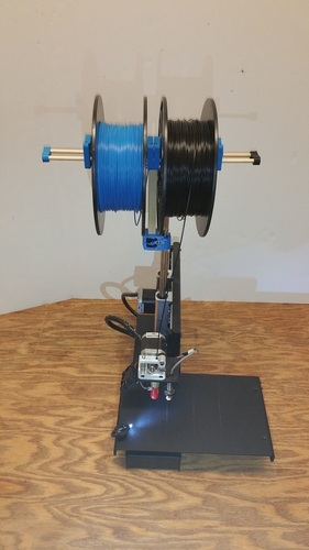 Dual Spool Holder 3D Print 20471