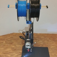 Small Dual Spool Holder 3D Printing 20471