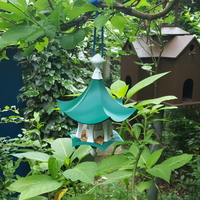 Small Little Bird Feeder Air Temple 3D Printing 204767
