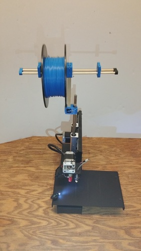 Dual Spool Holder 3D Print 20477