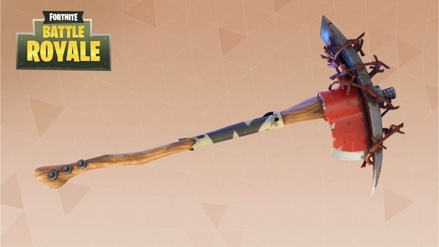 Fortnite battle royale AXE!! 3D Print 204797
