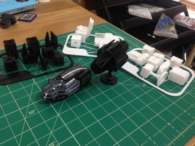 MagShips: The Shield 3D Print 20486